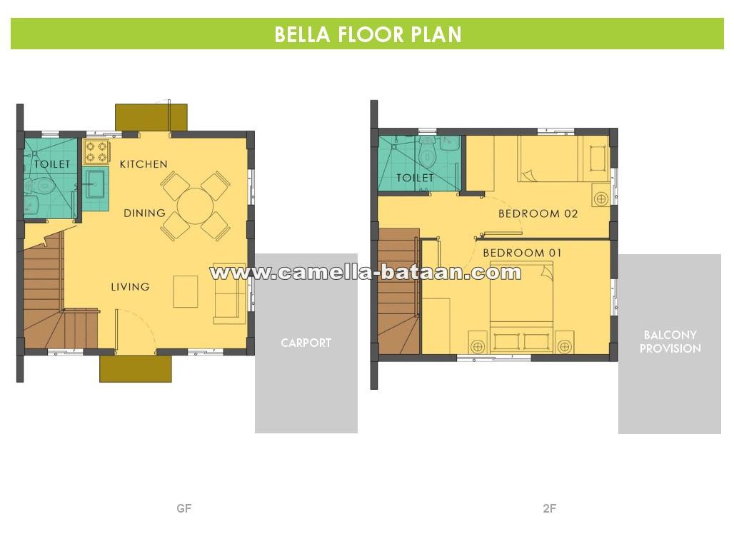 Bella  House for Sale in Bataan