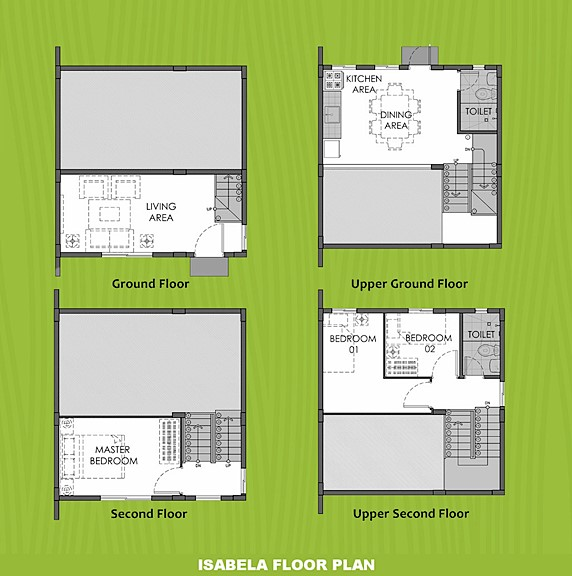 Isabela Floor Plan House and Lot in Bataan