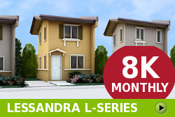Lessandra Affordable Houses in Camella Bataan