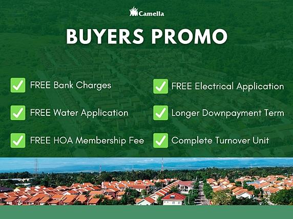 Promo for Camella Bataan.